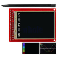 "2.0"" TFT LCD Touch Screen Breakout Board with Touch Pen for Arduino TW"