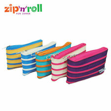 Zip 'N' Roll Coin and Card Pouch Wallet - Made From a Single Zip - Zip It Up