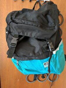 New Balance Backpack Laptop bag Black and Aqua, 1906