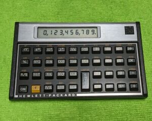 Vintage Hewlett Packard 10C Calculator HP Tested Excellent Voyager Scientific