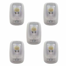 5 RV LED 12v FIXTURE SINGLE DOME LIGHT 3200K WARM WHITE CAMPER TRAILER MARINE