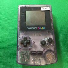 P8999 Nintendo Gameboy Color console Clear Purple Japan GBC Express x