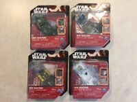 Lot of 4 Star Wars Box Busters Endor Rebels Hoth Yavin Game / Playset Disney