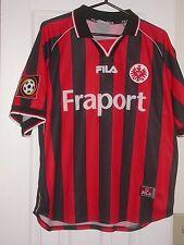 Eintrach Frankfurt 2000-01 Match/Game Worn Soccer Jersey - Bindewald Bundesliga