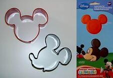 """Ausstecher/Ausstechform """"MICKEY MOUSE"""" - Set 2-tlg. - Micky Maus"""