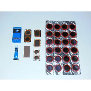 Park Tool VP-1 Bike Tube Patch Kit (6+24) Vulcanizing Rubber flat tire repair