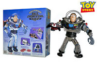 "Toy Story Intergalactic Buzz Lightyear 11"" Chrome Talking Action Figure Disney"