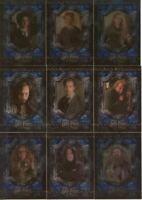 Harry Potter and The Prisoner of Azkaban UK Chase Card Set F1-F17 Cards