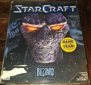 StarCraft - Vintage Blizzard 1998 Big Box PC - Classic - Complete