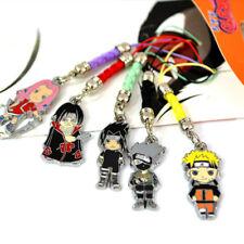 Anime Naruto Sakura Kakashi Pendant Keychain Cosplay Ornament Bag Phone Charm