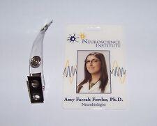 The Big Bang Theory Neurobiologist Amy Farrah Fowler Ph.D. ID - Karte , ID Badge