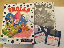 COMMODORE AMIGA 1200 A1200 GAME TROLLS By FAIR SOFTWARE BIG CARD BOX COMPLETE