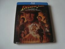 INDIANA JONES AND THE KINGDOM OF THE CRYSTAL SKULL Blu-Ray SteelBook NEW&SEALED