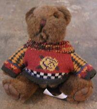 Festive Friends Brown Teddy Bear with Sweater (SA1-12)