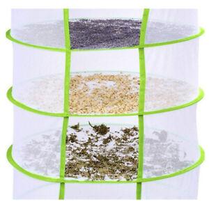 DryNet Dry Net w/  Drying Rack Hydroponics Grow Herb Tent 4 OR 8 Layer
