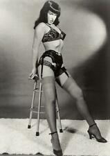 Bettie Page Bettie IV 30 x 40 Textile//Fabric Poster