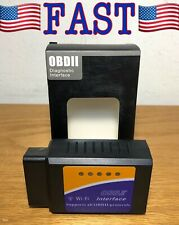 OBD2 WiFi Car Code Reader Scanner Tool Wireless Diagnose 3000 Car Codes