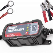 6V/12V Intelligent Battery Protector Car Float Charger 1.2A Battery Maintainer