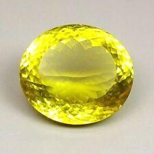 TOP LEMON CITRINE : 32,88 Ct Natürlicher Lemon Citrin aus Brasilien