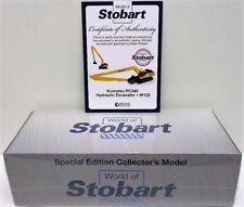 Atlas Editions - World Of Stobart - Komatsu PC340 Hydraulic Excavator - W122