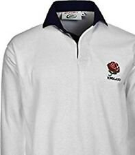 ENGLAND ADULTS UNISEX TRADITIONAL RUGBY SHIRT RETRO JERSEY S M L XL XXL 3XL 4XL