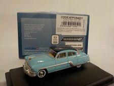 Model Car, Pontiac Chieftan - 1954 blue, 1/87 New Oxford 87PC54001