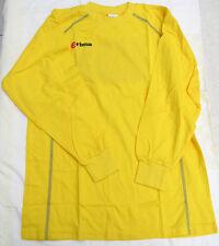 Erima T-Shirt langarm gelb Gr. S Baumwolle NEU (K1)