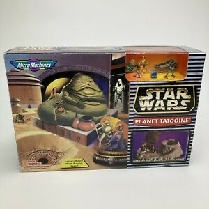 STAR WARS MICRO MACHINES PLANET TATOOINE ACTION PLAYSET New Factory Sealed Box!