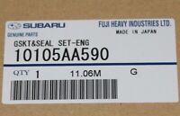 GENUINE NEW OEM SUBARU GSKT & SEAL SET-ENG 10105AA590