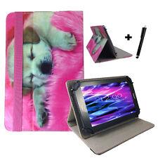 10.1 zoll Motiv Tablet Tasche Hülle Case Fujitsu Stylistic Q550 - Hund