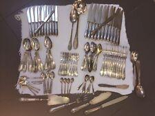 Ménagère recomposée de 102 pièces métal argenté (François Frionnet - Apollo)