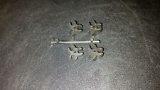 Playmobil Fort Bravo Wall Clips Connectors Lot of 4 Vintage