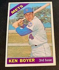 1966 Topps #385 Ken Boyer - Mets