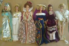Lot Of 6 Barbie Great Eras Collection Dolls