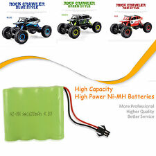 4.8V 1600mAH NI-MH Rechargeable Battery Pack For 1/18 2.4G Radio Remote Control