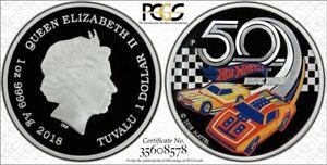2018 Hot Wheels 50th Anniversary Proof  PCGS PR69DCAM Gold Shield  First Strike