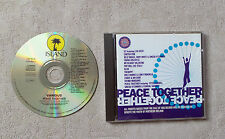 """CD AUDIO MUSIQUE INT / VARIOUS """"PEACE TOGETHER""""  CD COMPILATION 13T 1993"""