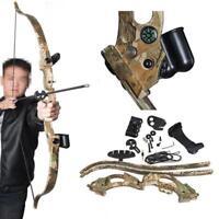 Recurve Bogen Takedown ABS Bogenschießen Jagd Schießen Spiele Pfeil Rest Anblick