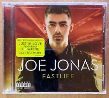 New CD Joe Jonas (Brothers) - Fastlife 2011 Fast Life Parental Advisory Version