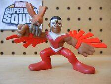 Marvel Super Hero Squad VERY RARE FALCON holding REDWING (bird) PLAY WEAR