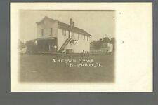 Burchinal IOWA RP c1910 GENERAL STORE nr Clear Lake Mason City GHOST TOWN?