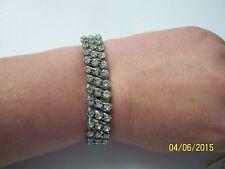 Vintage Stretch Gem Stone Bracelet
