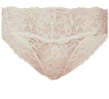 e63c015b15 Brand New Ex M S Floral Lace Bikini Knickers Almond Sizes 6-8-10-
