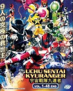 Uchu Sentai Kyuranger (Vol: 1 - 48 End) with English Subtitles