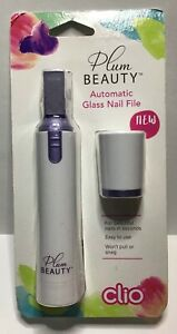 Plum Beauty Automatic Glass Nail File Clio WEAR