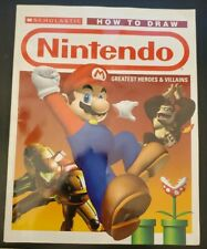 How to Draw Nintendo Greatest Heroes Scholastic Excellent Condition Paperback
