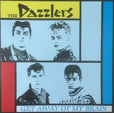 THE DAZZLERS - Get Away Of My Brain BLACK VINYL LP (NEW) ROCKABILLY FROM 1982