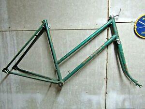 Raleigh lenton Ladies Traditional Vintage Bike Frame Womens Green Cycle renolds