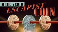 Escapist Coin (DVD and Gimmicks) by Meir Yedid – Magic Tricks