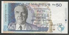 Mauritius P-43 50 Rupees 1998 Unc